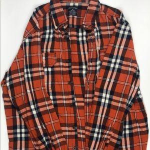 Faded glory Flannel long sleeve shirt
